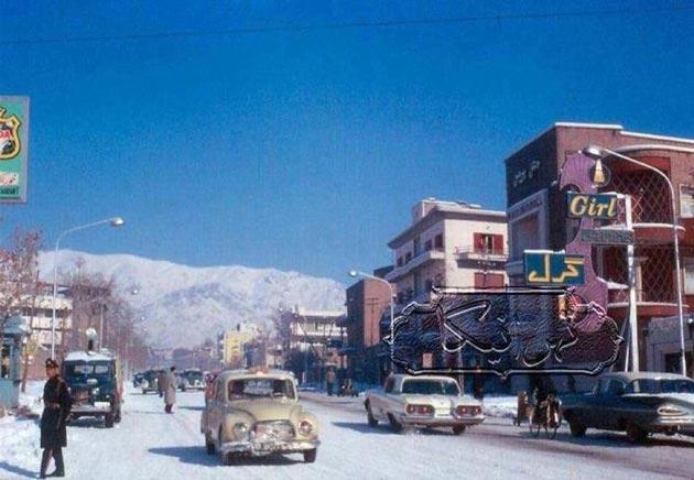 عکس/ قدیمیترین عکس رنگی از تهران