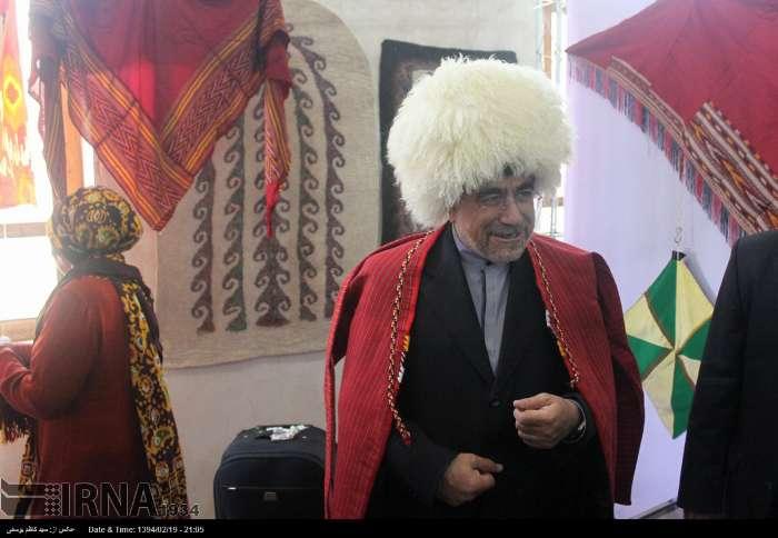عکس/ ظاهر متفاوت جنتی در تبریز