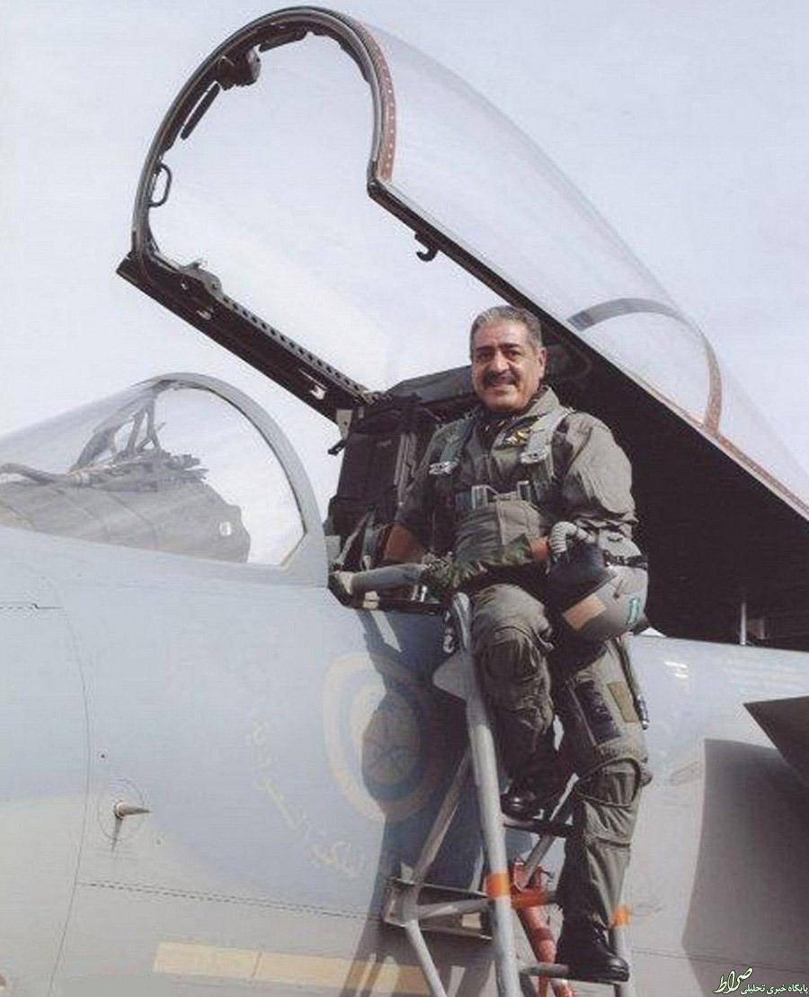 عکس/ شاهزاده خلبان سعودی