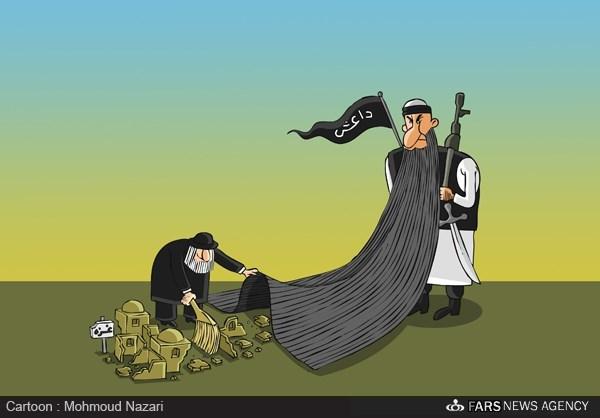 کاریکاتور/ کاربری جدید داعش