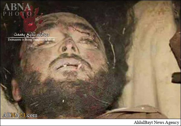 هلاکت امیر داعش در دیرالزور +عکس