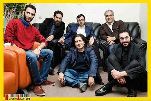 عکس/ مهران مدیری در کنار پسرش
