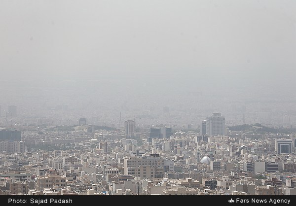 تصاویر/ آسمان تهران در 24 اردیبهشت