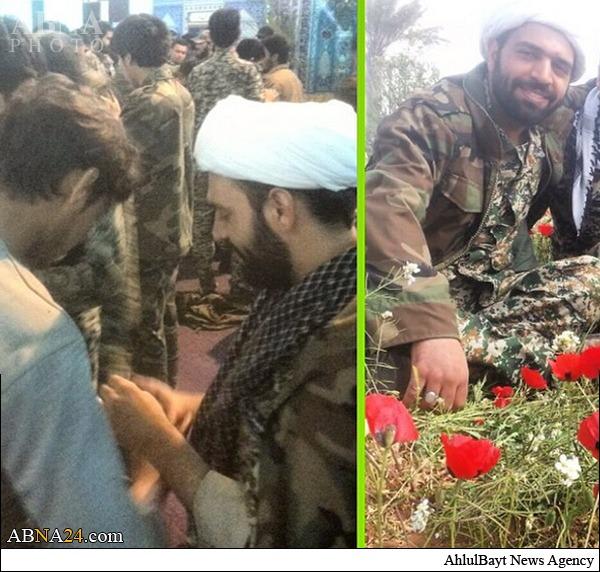 عکس/ اولین روحانی شهید مدافع حرم