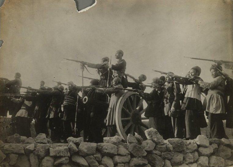 عکس/تفنگچی های دوره قاجار