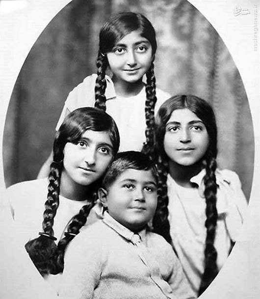 عکس/ فرزندان احمدشاه قاجار