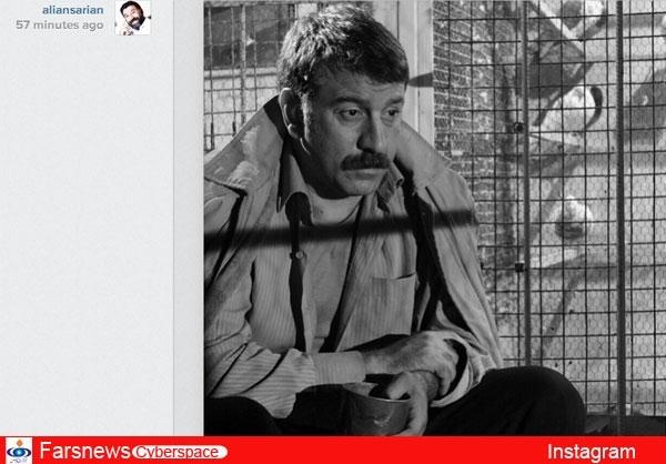 عکس/ جدیدترین فیلم علی انصاریان