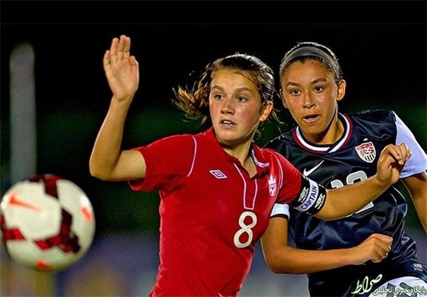 10 ستاره جامجهانی فوتبال بانوان +تصاویر