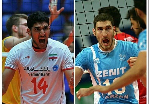 شباهت پدیده والیبال ایران با میخائیلوف +عکس