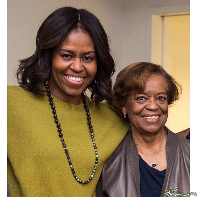عکس/ مادر زن اوباما