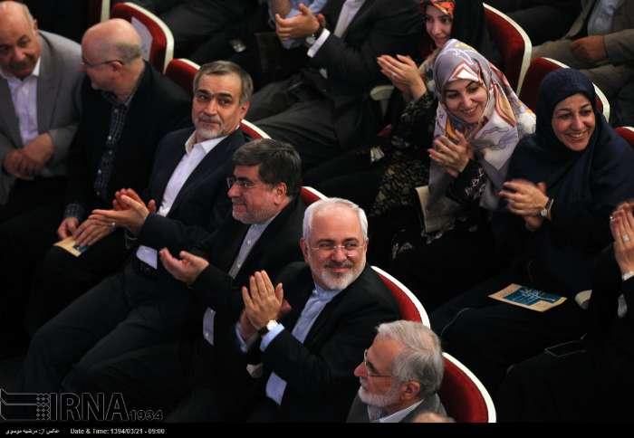 عکس/ ظریف و همسرش در کنسرت
