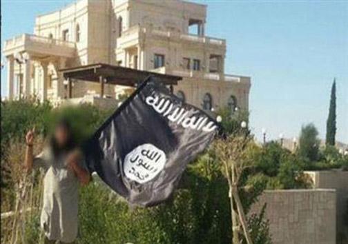 کاخ مادر امیر قطر در کنترل داعش +تصاویر