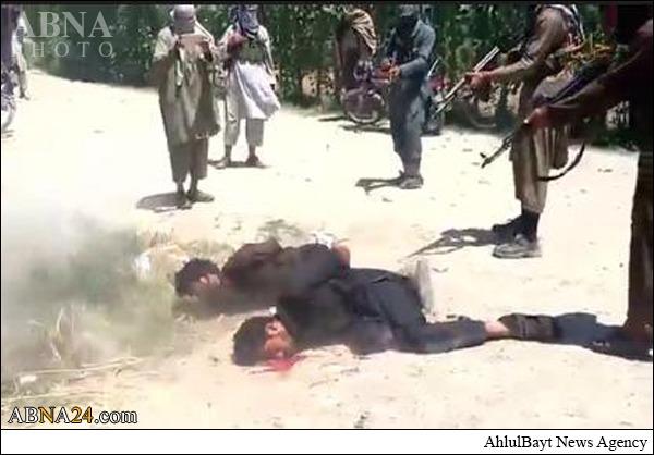 اعدام دو افغان دیگر به دست داعش +عکس