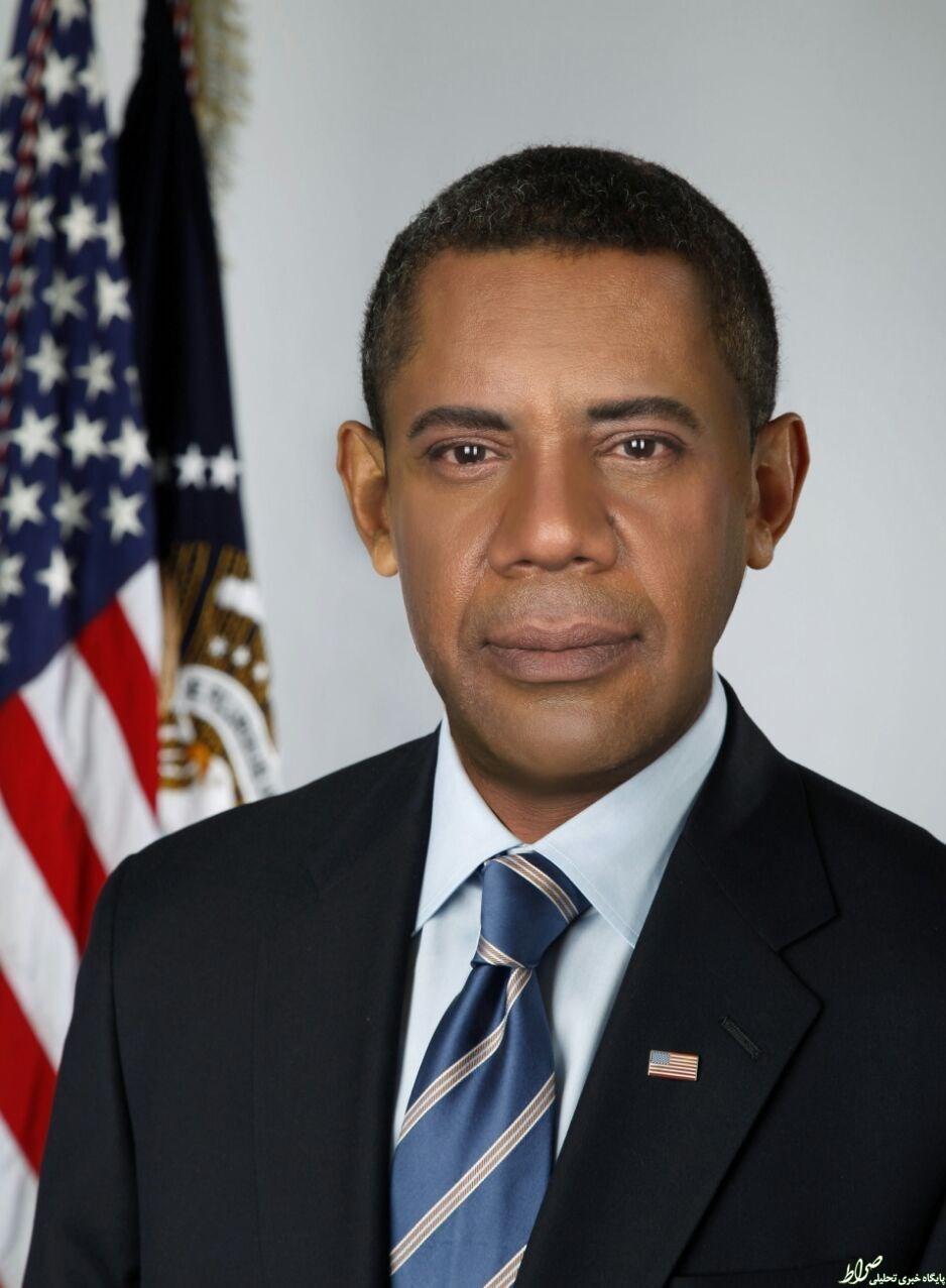 لولایی در نقش اوباما +عکس
