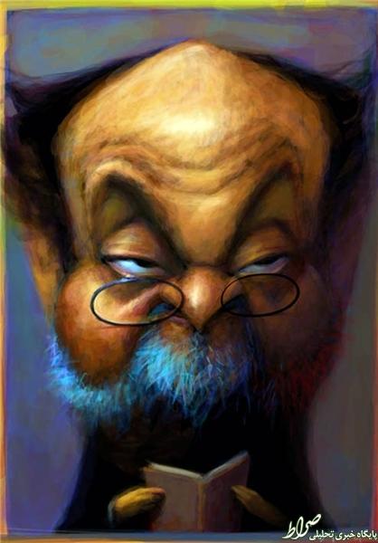 شخصیت واقعی سلمان رشدی +عکس
