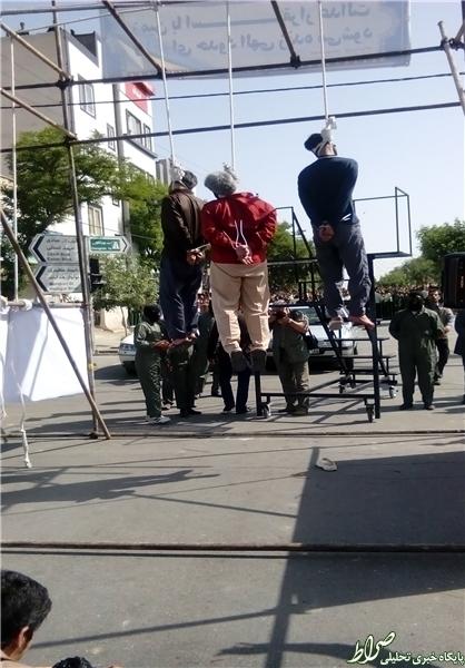 عکس اعدام سرقت مسلحانه حوادث مشهد اخبار مشهد اخبار قتل اخبار اعدام