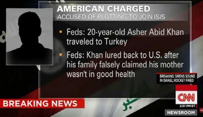 ترفند خانواده آمریکایی برای بازگرداندن فرزندش از آغوش داعش +عکس