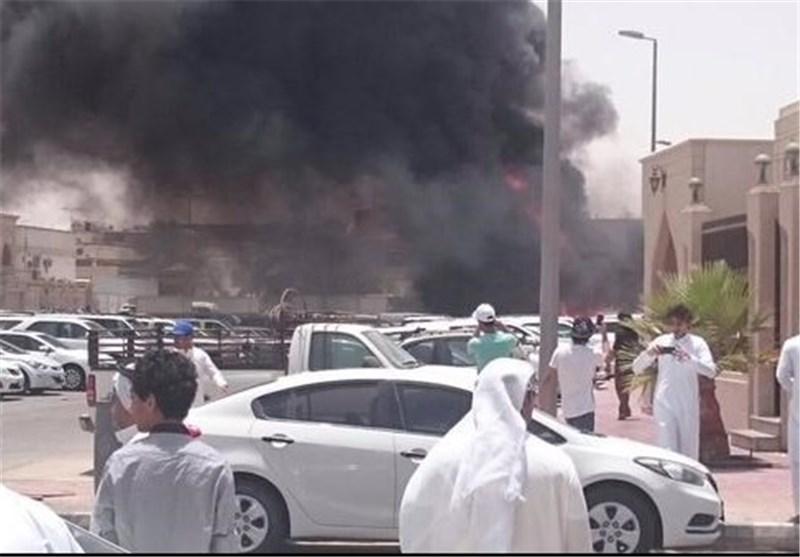 انفجاردرمسجد امامحسین(ع) در عربستان +تصاویر