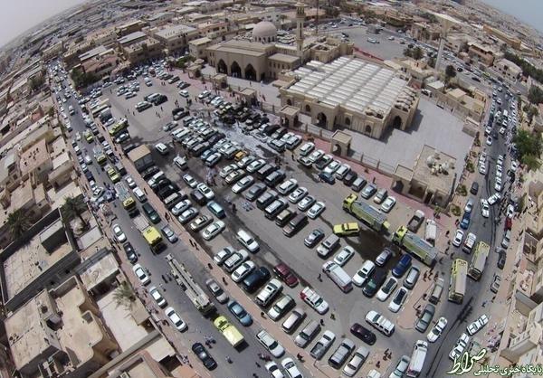 دزدی عربستان از بسیج مردمی دمام +تصاویر