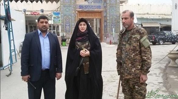 این زن، نه ایرانی است نه شهید +تصاویر