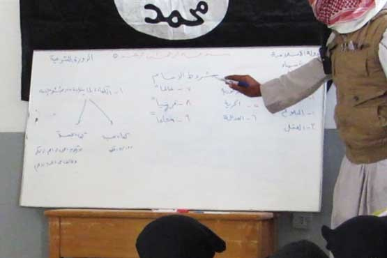 کلاسهای عقیدتی داعش درمصر! +تصاویر