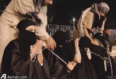 فروش زنان برده داعش بعد از افطار +تصاویر