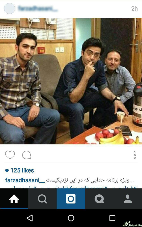 عکس/ فرزاد حسنی در ویژه برنامه قدر
