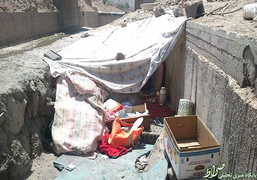 غارنشینان کارتون خواب تهران +تصاویر