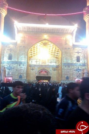 تصاویر/ حرم امیرالمومنین(ع) در ۲۱ رمضان