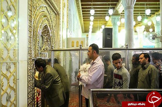 تصاویر/ محل ضربت خوردن حضرت علی(ع)