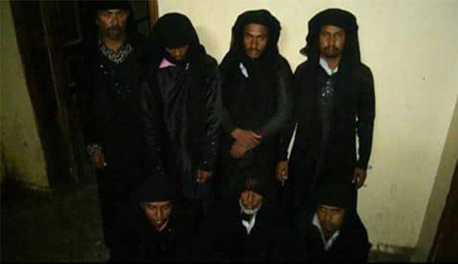 دستگیری تروریست زننما در یمن+عکس