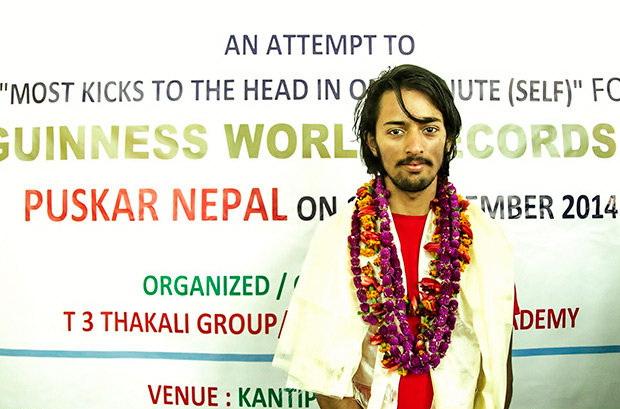 ثبت رکوری عجیب از مرد فقیر هندی +عکس