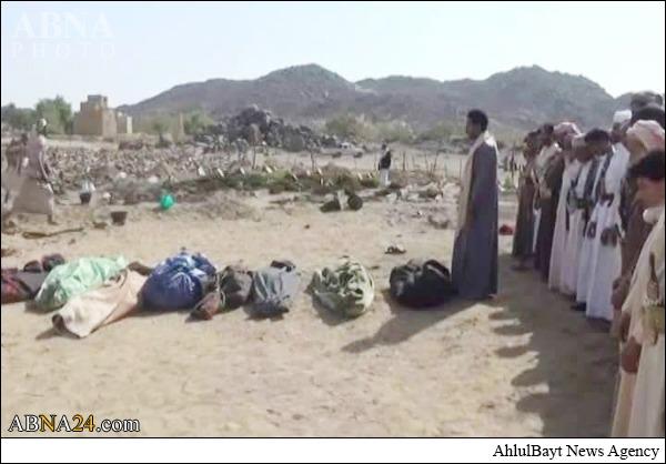 جنایت هولناک سعودیهادرصعده +عکس