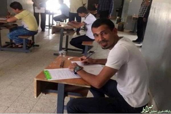 کاپیتان تیمملی عراق به دنبال دیپلم!+عکس