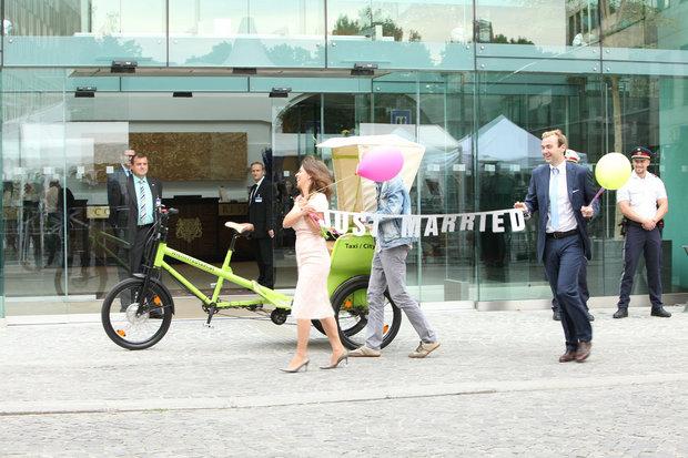 ماهعسل در هتل مذاکرات وین!+تصاویر
