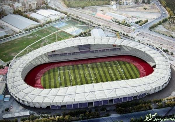 عکس/ مدرنترین ورزشگاه فوتبال ایران