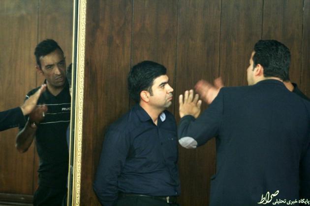 عکس/ درگیری عنایتی با آقای گزارشگر