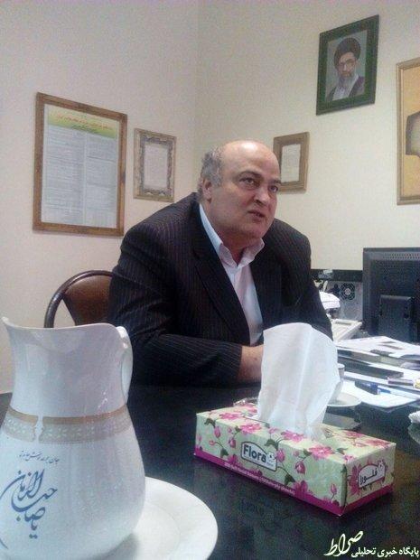 عکس/ دفتر نماینده یهودیان در مجلس