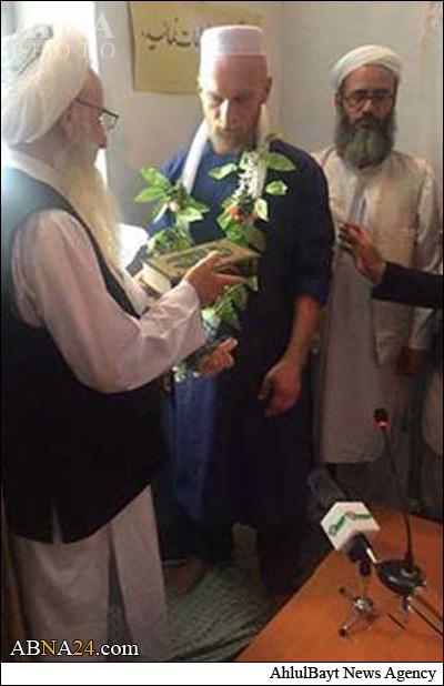 یک مسیح دانمارکی مسلمان شد+عکس