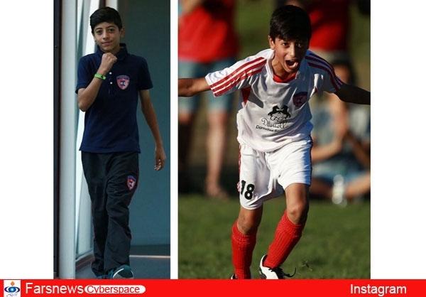 عکس / فوتبالیستی  دیگرازخانواده مهدویکیا