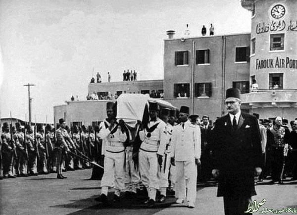 تصاویر/ تشییع جنازه و قبر شاه