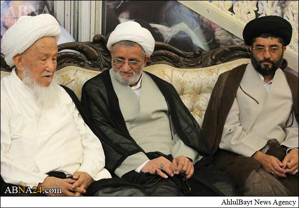 سفر یکیازمراجع تقلید نجف به ایران+تصاویر