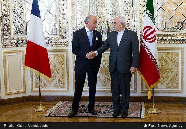 تصاویر/ دیدار ظریف و فابیوس در تهران