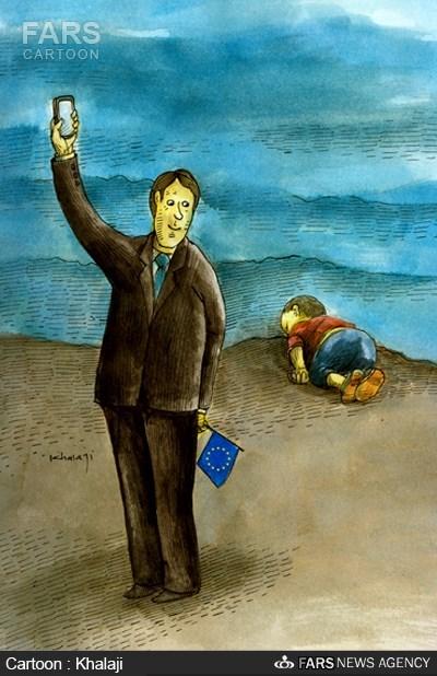 کاریکاتور/واکنش کامرون به پیکر کودکسوری