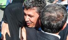 مهدی هاشمی هنگام ورود به زندان