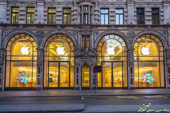 زیباترین و عجیبترین فروشگاه های اپل