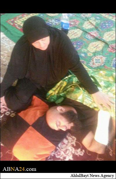ابوعزرائیل مجروح شد +عکس