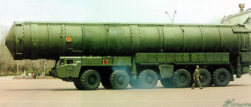 موشک چینی که همه آمریکا را میزند +عکس