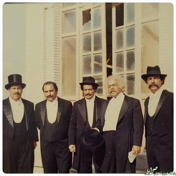 محمدعلی کشاورز در پشتصحنه هزاردستان +عکس