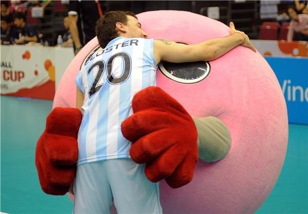 بابوچان؛ نماد والیبال ژاپن +عکس
